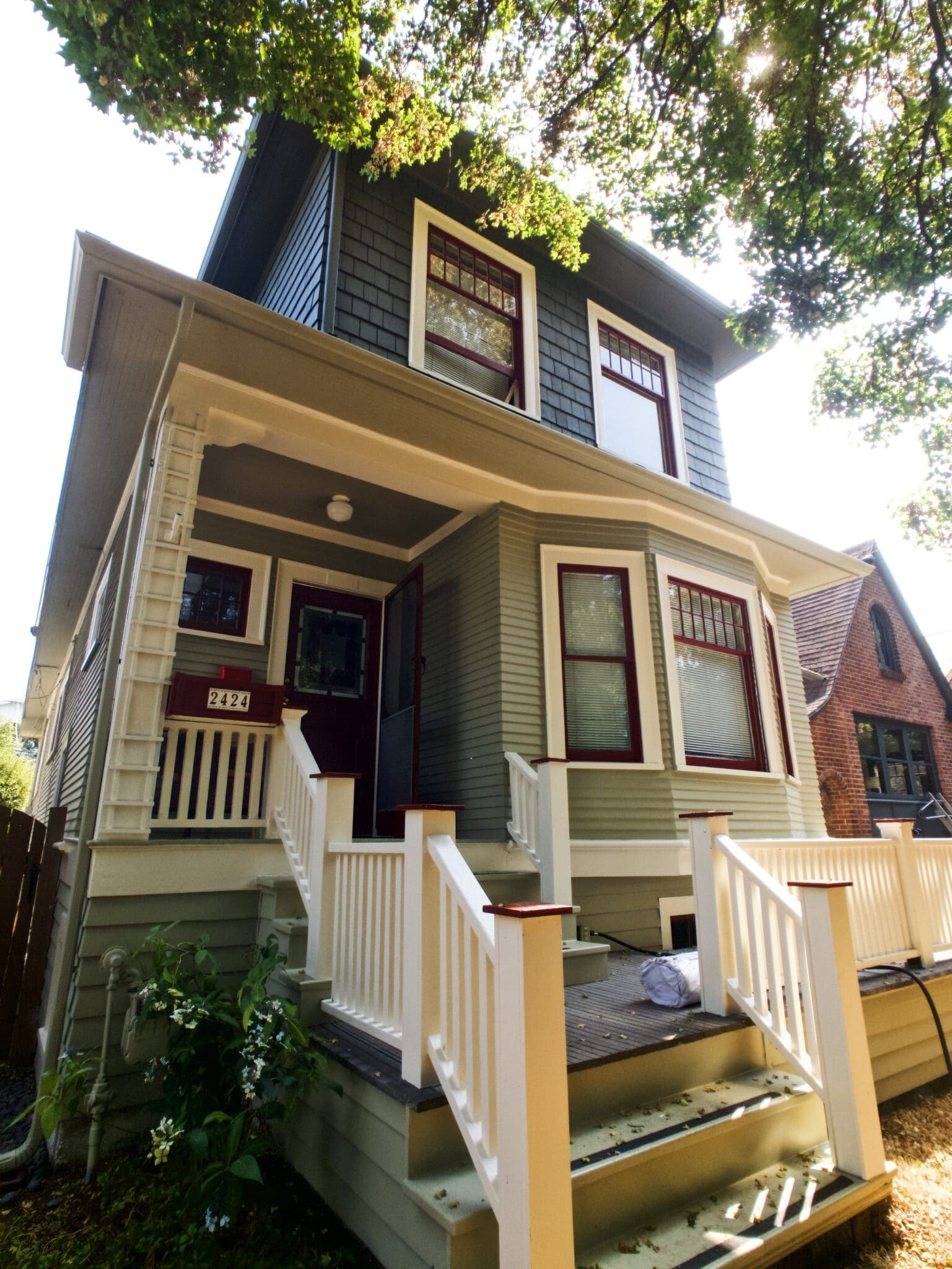 Queen Anne Exterior Painting